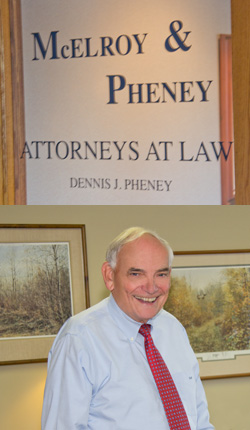 McElroy & Pheney effective in Business Planning and Formation, Residential Real Estate, Estate Planning and Asset Preservation
